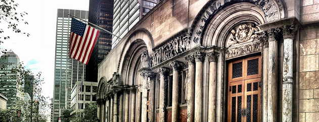 St. Bartholomew's Church is one of Places to visit NYC 2013.
