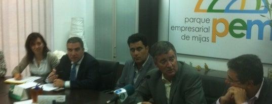 Asociación Parque Empresarial Mijas is one of Colectivos profesionales de Málaga y provincia.