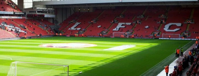 Anfield is one of Football Stadiums to visit before I die.
