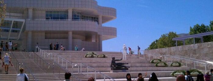 J Paul Getty Museum is one of Los angeles.