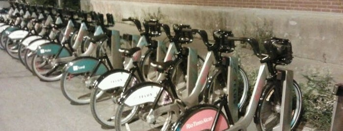 Station BIXI is one of bikes & shoes.