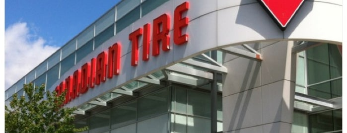 Canadian Tire is one of Pump It Up: Air Hoses for Bike Tires in YVR.
