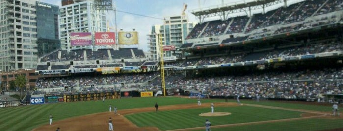 Petco Park is one of Out and About in San Diego.