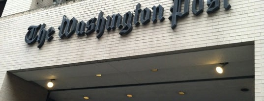 The Washington Post is one of ♡DC.