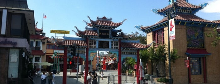 Old Chinatown Central Plaza is one of The Historical Landmarks of LA Noire.