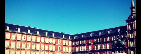 Plaza Mayor is one of Dieter's favourite spots in Madrid.