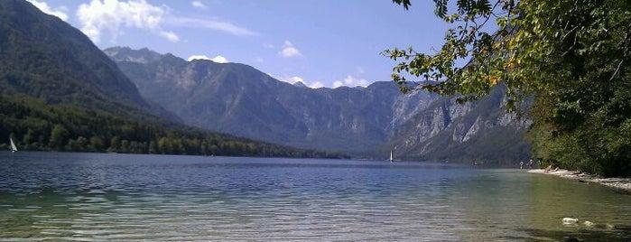 Lake Bohinj is one of sevilla - dubrovnik july 2013.