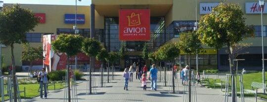 Obchodní - nákupní centra v Ostravě