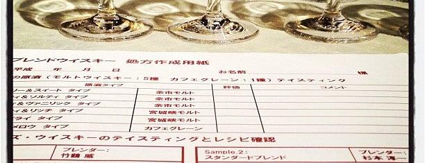 nikka blender's bar is one of tokyo.