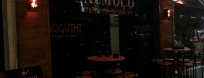 Noguthi Temakeria & Lounge is one of Em Santos.