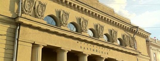 metro Baltiyskaya is one of метро.