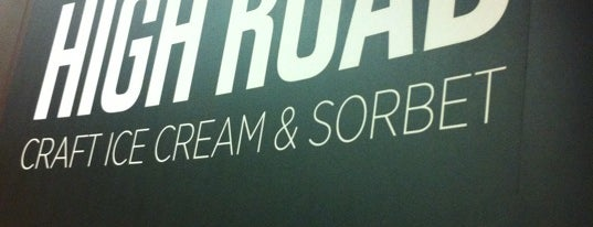High Road Craft Ice Cream Factory Store is one of Taste of Atlanta 2012.