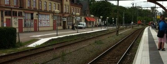 Varbergs Station is one of Tågstationer - Sverige.