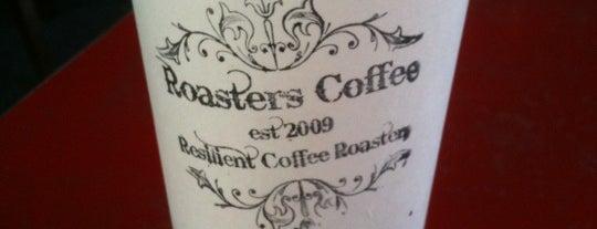Roasters Coffee Bar is one of Coffee.