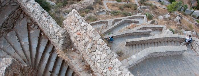 Palamidi Fortress is one of Greek gems.