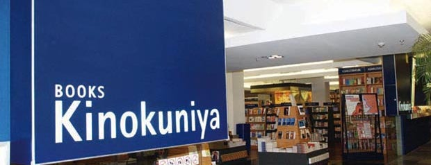 Kinokuniya is one of Bookworm Bender Badge.