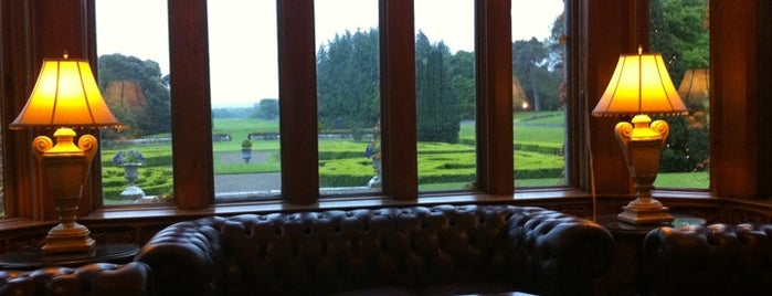 Adare Manor Hotel is one of Impeccable Taste..