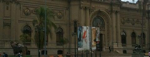 Museo Nacional de Bellas Artes is one of Santiago, Chile #4sqCities.