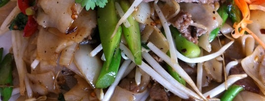 Miss Pad Thai is one of Pad Kee Mao in the IE - Who Does It Best.