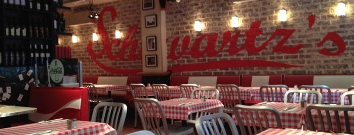 Schwartz's Deli is one of Paris.