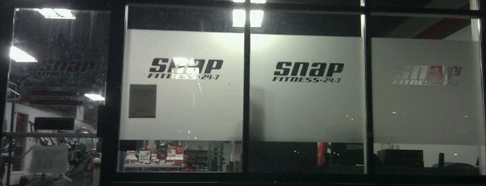 Snap Fitness is one of Marcella's Liked Places.
