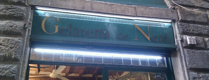 Gelateria dei Neri is one of Under the Florence Sun - #4sqcities.
