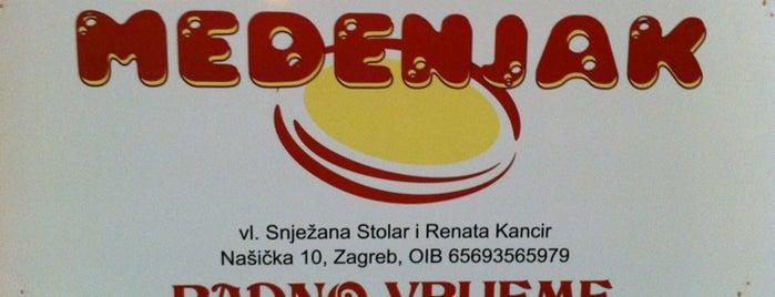 Slastičarnica Medenjak is one of Cakes & Cookies!.