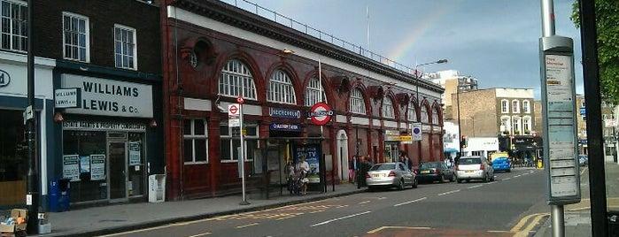 Chalk Farm London Underground Station is one of Tube Challenge.