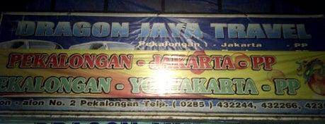 Pool Dragon Jaya Travel is one of Pekalongan World of Batik.