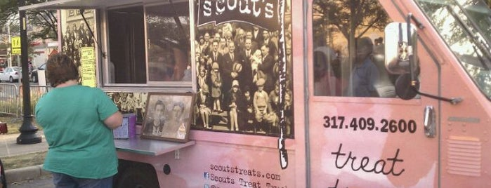 Scout's Treat is one of Indy Food Trucks.