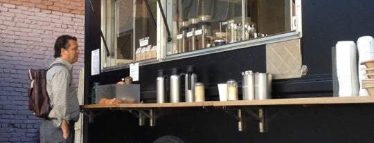Réveille Coffee Co. Truck is one of SF Coffee Stops for Nerds.