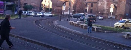 Porta Maggiore (linea Roma-Giardinetti) is one of Muoversi a Roma.