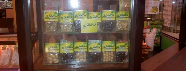 The Green- fresh juices, sandwiches, salads, yogurts, coffee is one of GURU SNACKS OUTLETS.