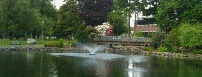 Wright Park is one of Dog walking in Tacoma.