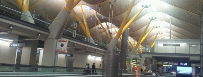 Adolfo Suárez Madrid-Barajas Airport (MAD) is one of I Love Airports!.