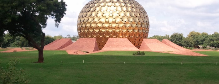 Auroville is one of life of pi...Pondicherry.