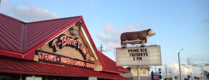 T-Bone Tom's is one of DINERS DRIVE-IN & DIVES 3.