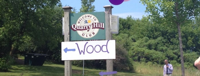 Quarry Hill is one of Champlain College List.