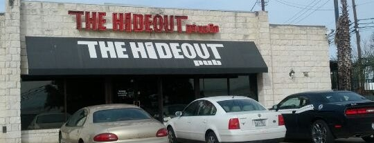 Hideout Pub is one of Happy Hour.