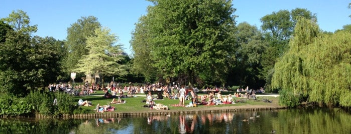 Sarphatipark is one of Amsterdam.
