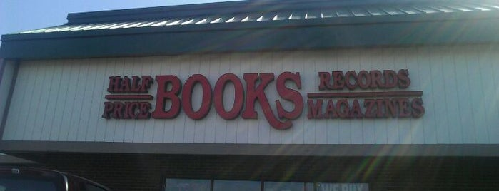 Half Price Books is one of Favorites.