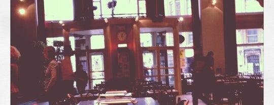 Vooruit Café is one of Top Bars in Ghent.