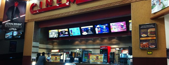 Cinemark is one of ECUADOR.