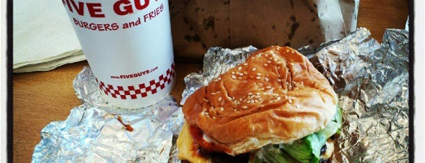 Five Guys is one of Top 10 favorites places in Williamsburg, VA.