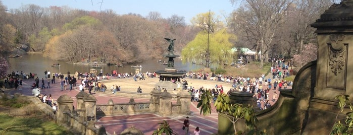 Bethesda Fountain is one of Park Highlights of NYC.