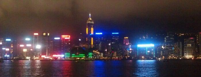 Tsim Sha Tsui Promenade is one of Hong Kong.
