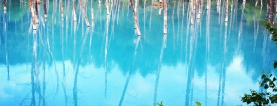Blue Pond is one of 楽.