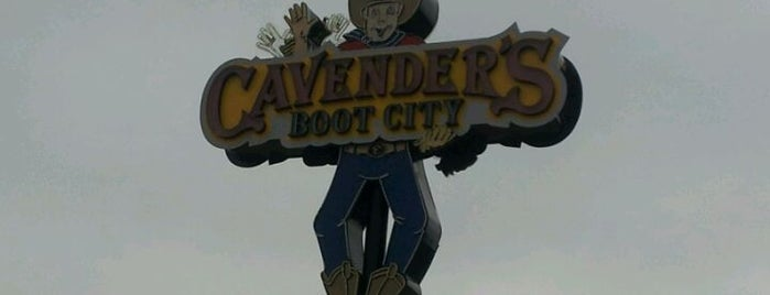 Cavender's Boot City is one of FYI.
