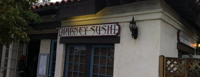 Harney Sushi is one of Eateries to Try.
