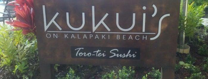 Kukui's Bar is one of Kauai Favorites.